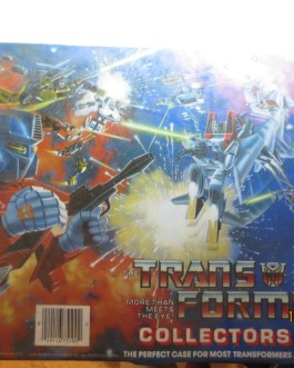 Transformers Collectors Case G1 Hasbro 75100 Tara Toy Corp. 1984 Vintage