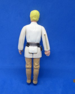Vintage Star Wars Luke Skywalker Farmboy Kenner 1977 Blonde