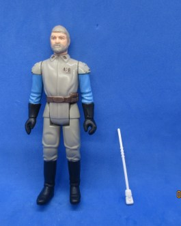 Vintage Star Wars General Madine Complete 1983 Taiwan W/ Staff