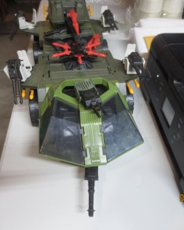 1988 Gi Joe Near complete Rolling Thunder Vehicle nice