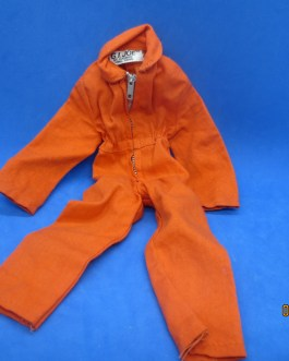 Vintage Hasbro GI JOE Orange Jumpsuit Hong Kong 1964
