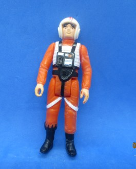 VINTAGE 1978 STAR WARS 3.75″ Luke X-Wing ACTION FIGURE MADE nice