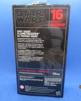 First Order Flametrooper 6″ The Black Series STAR WARS MIB #16 Hasbro NEW MIB
