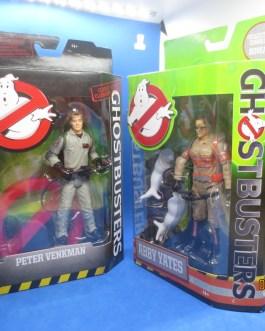 "3 NIB Peter Venkman Ray Stantz & Abby Yates Classic Ghostbuster 6"" Action Figures"
