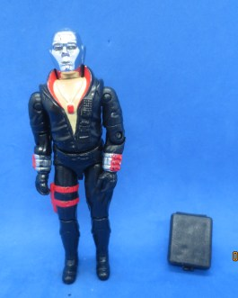 GI Joe 1983 Destro figure near complete missing gun