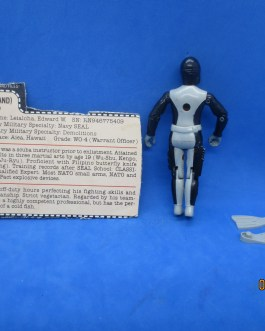 GI Joe 1983 Torpedo 100% Complete Harpoon Gun Flippers Pack Weapon Accessory