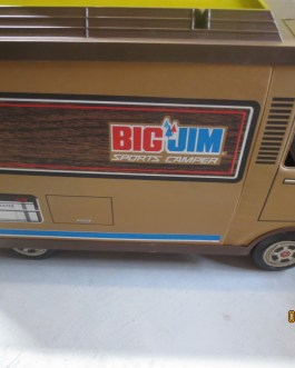 Big Jim Sports Camper With Outdoor Accessories Mattel 1971