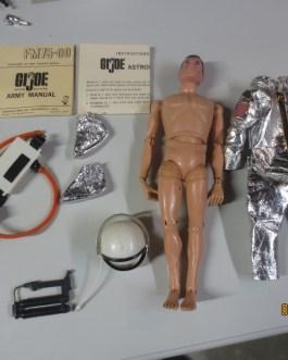 Original 1960's vintage Hasbro GI Joe 12″ ASTRONAUT figure w/ uniform SPACE toy