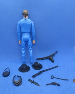 MARX 7.5″ WEST SERIES Cowboy with accessories 1970s era great condition