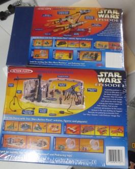 Star Wars Episode 1 Action Fleet RARE SET Anakins Podracer & Podracer Hangar Bay