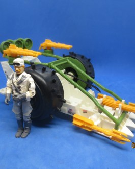 Vintage GI Joe Action Figure Vehicle 1989 Arctic Blast with Windchill
