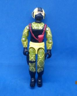 Python Copperhead #2 GI Joe Cobra 1989 Hasbro Action Figure Vintage