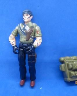 GI Joe 1987 Tunnel Rat V1 with backpack ARAH Vintage Classic