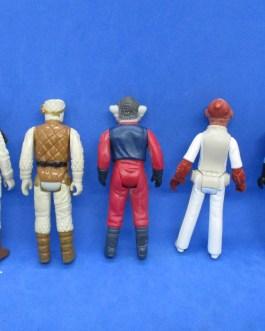 5 VINTAGE 1977-83 STAR WARS REBELS LOT Madine, Ackbar, Nien Nunb & More