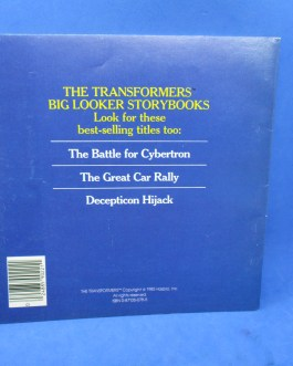 Vtg 1985 Transformers Insecticon Attack Marvel Books Big Looker Soft Cover