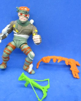 TMNT 1989 Rat King Figure with Accessories Near Complete