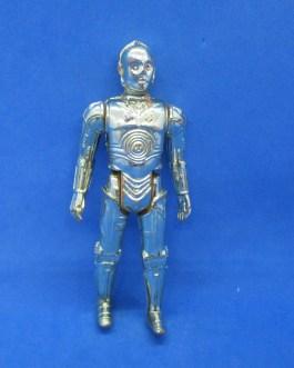 Vintage 1977 Star Wars C-3PO Action Figure Hong Kong, 3.75″ nice