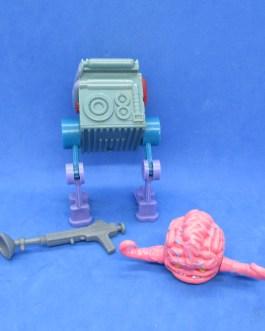 TMNT Vintage Krang Parts Gun Brain walker accessories Playmates 1989