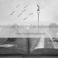 Providing actionable information