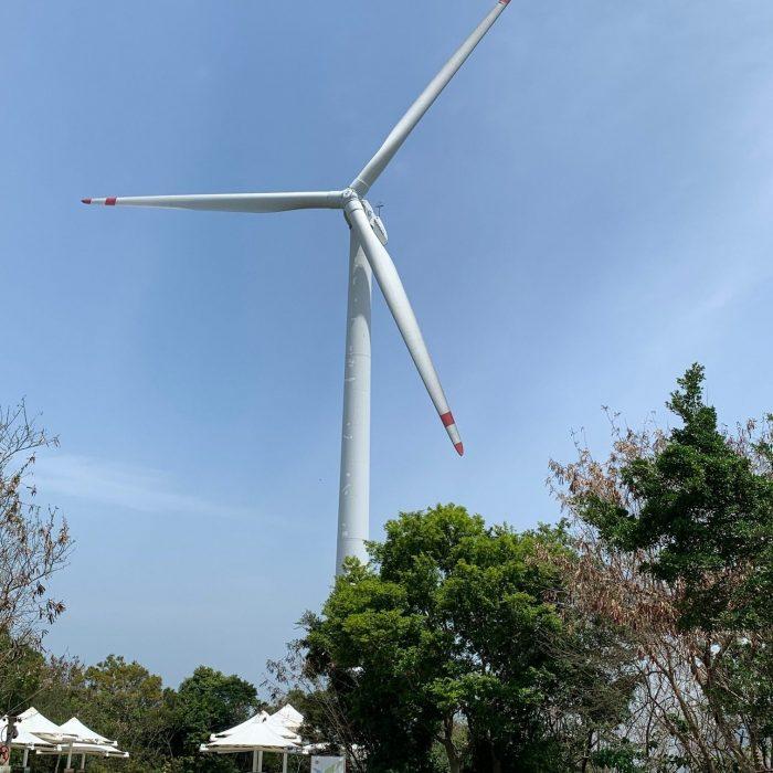 Lamma Island wind turbine