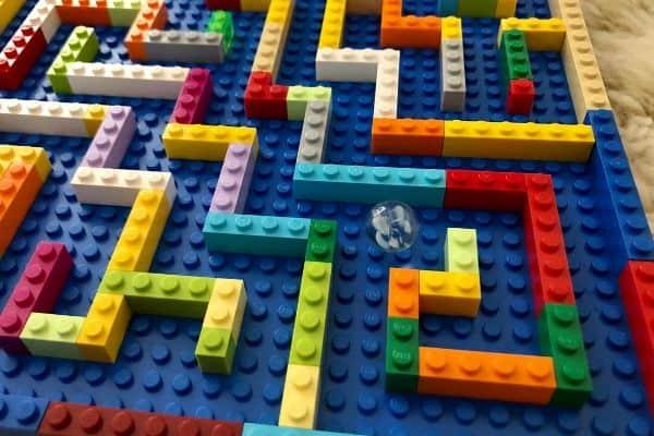 Lego Marble Maze