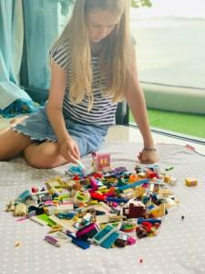 Rainbow Lego Play Mat