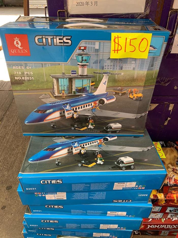 Plane set half price hong kong