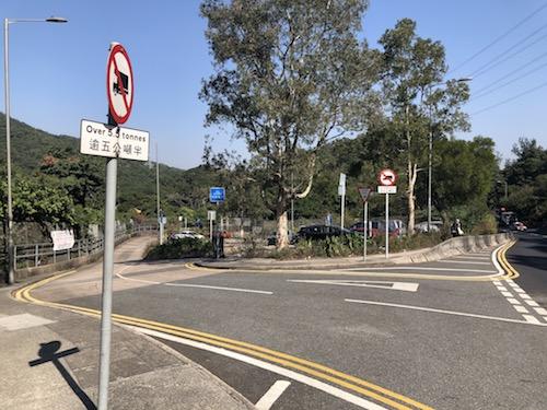 Meter parking Kam Shan Country Park