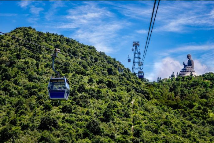 cable car to Ngong Ping