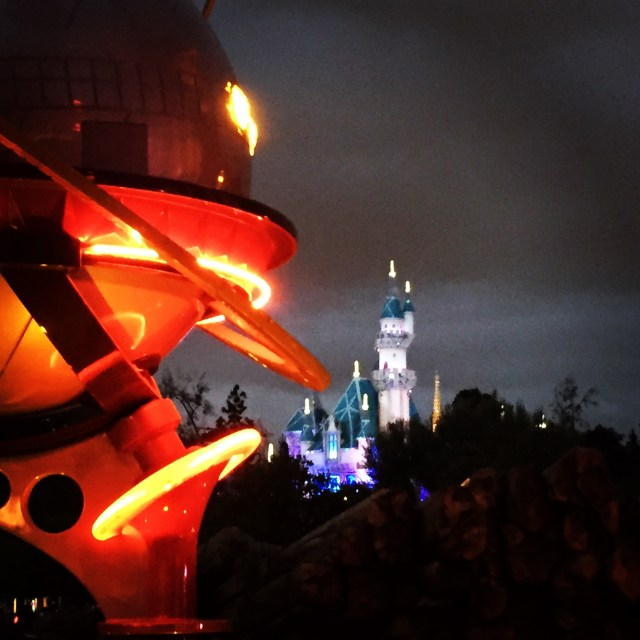 Tomorrowland Castle