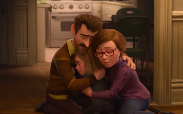 Pixar Inside Out Family