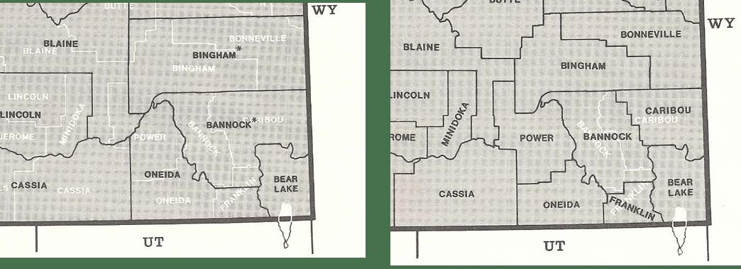 idaho county changes