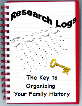 Research Logs: The Key to Organizing Your Family History