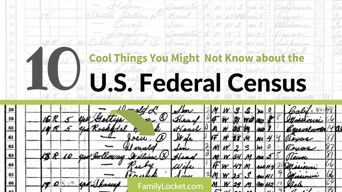 Ten Cool Things You Might Not Know About The Us Federal Census - Map-guide-to-the-us-federal-censuses-1790-1920