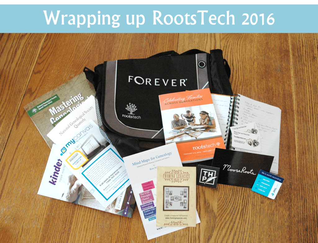 wrapping up rootstech