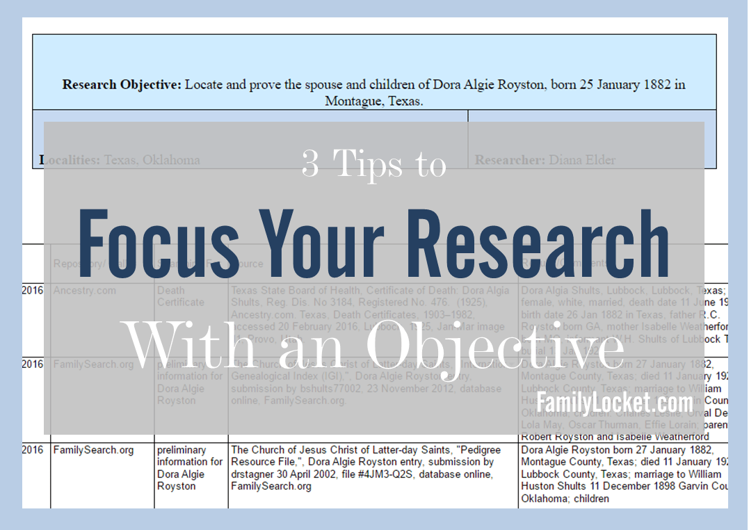 3 tips to focus your research with an objective title image