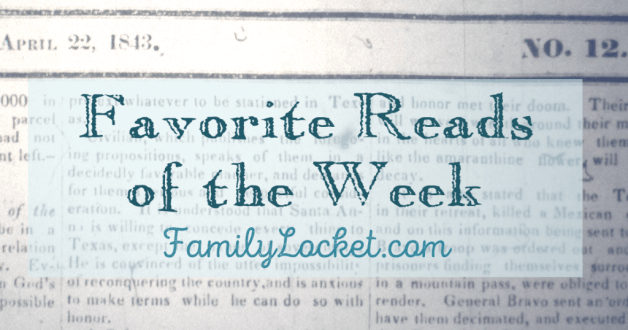 Family history articles favorite reads family locket