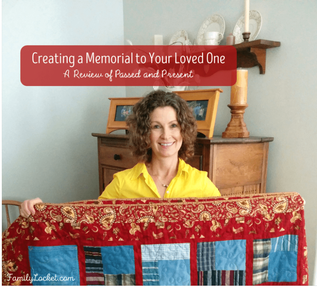 creating a memorial to your loved one a review of passed and present