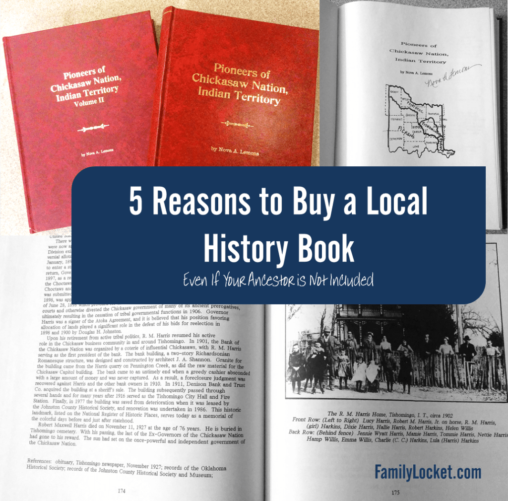 5 reasons to buy a local history book