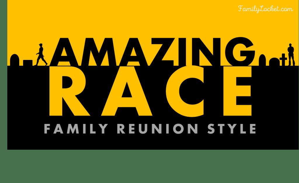 Amazing race family reunion style