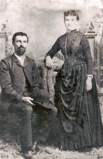 William Henry Kelsey and Selina Beddoes about 1884