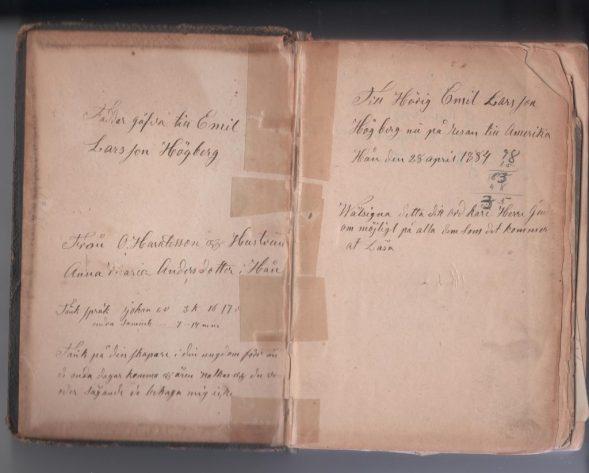 10 Hogberg, Anna (Persson) (1884 Her Swedish Bible 1)