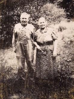 Jeptha Allen Gibson and Lydia Elizabeth (Graham) Gibson