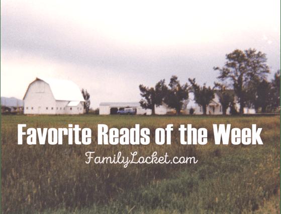 Favorite reads of the week barn