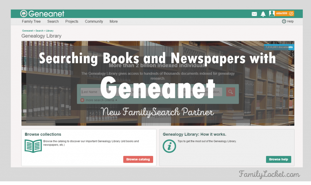 Have You Heard of the New FamilySearch Partner, Geneanet?