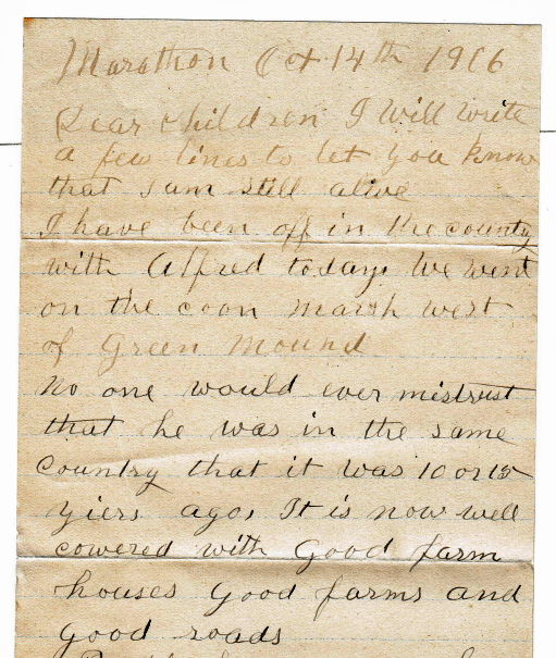 Voices from the Past: A Family Letter Transcription Project – Part One
