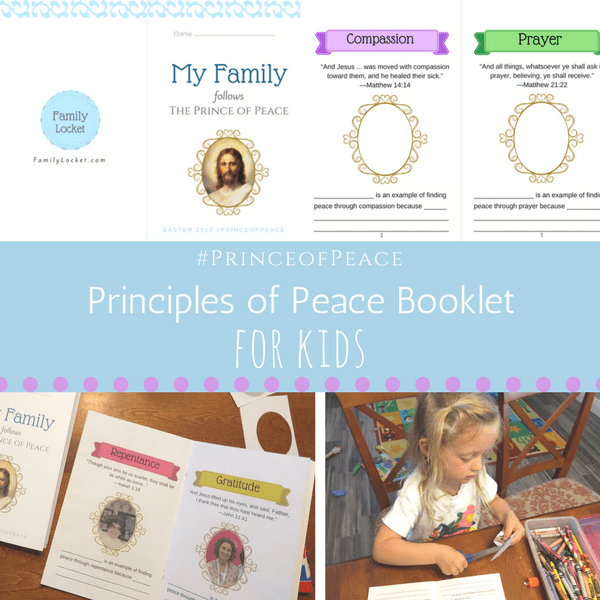 Principles of Peace Family and Ancestor Booklet