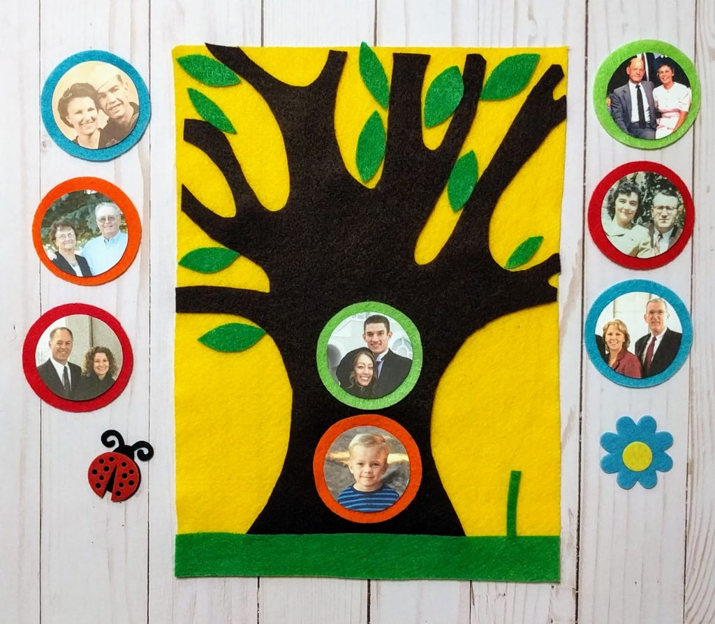 Felt Family Tree Kit