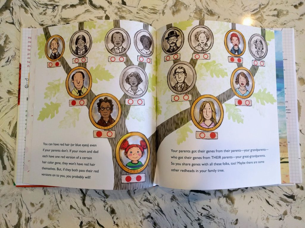 Inherited Traits Family Tree Worksheet Family Locket