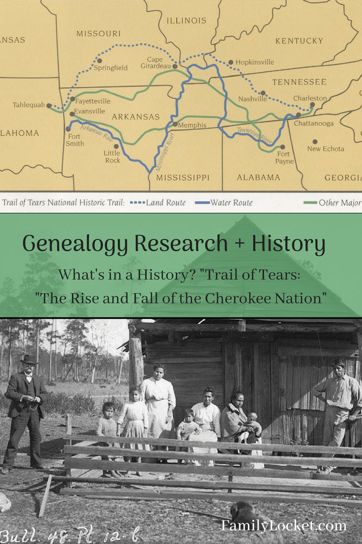 "What's In a History? ""Trail of Tears: The Rise and Fall of"